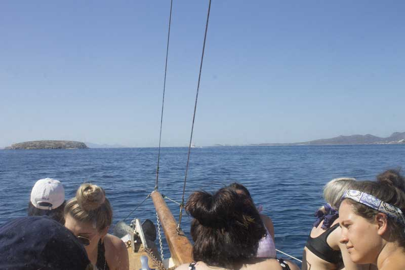 sparos daily cruises private cruises boat day trip paros island gallery 10