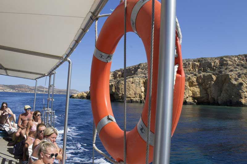 sparos daily cruises private cruises boat day trip paros island gallery 13