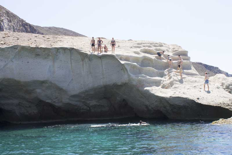 sparos daily cruises private cruises boat day trip paros island gallery 24