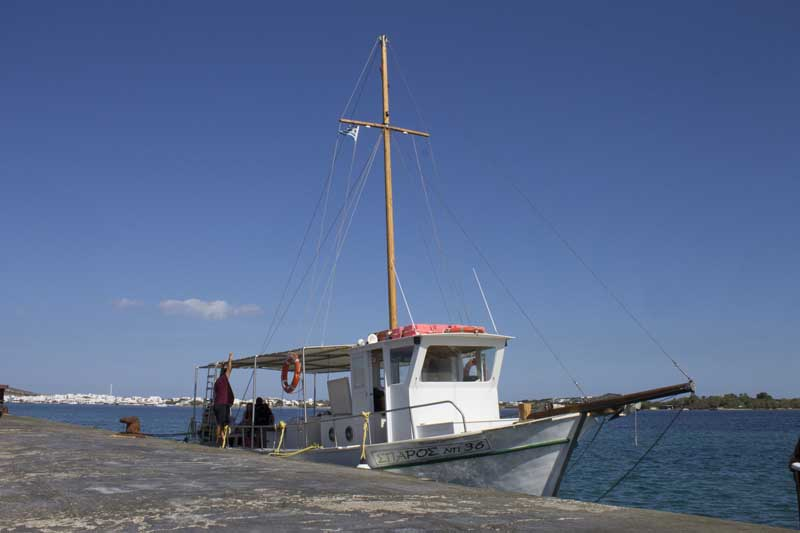 sparos daily cruises private cruises boat day trip paros island gallery 5