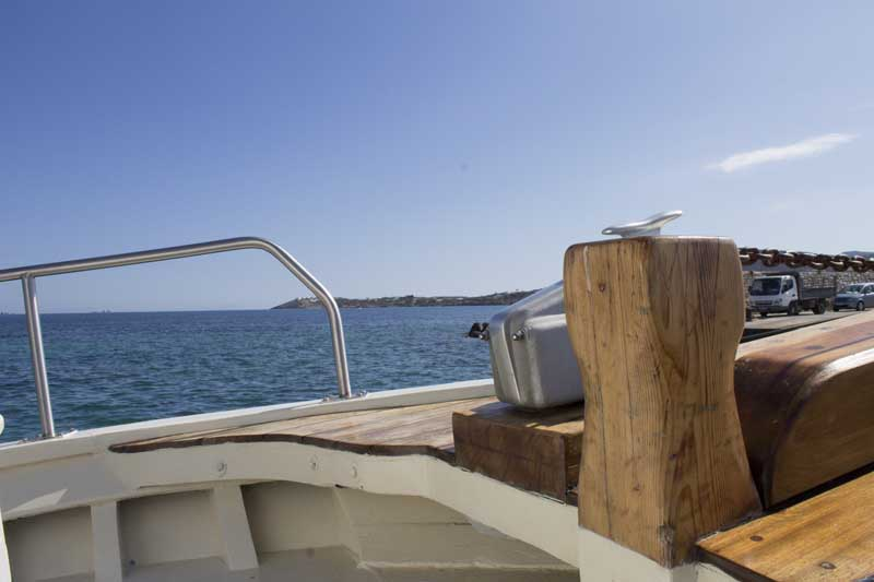 sparos daily cruises private cruises boat day trip paros island gallery 6